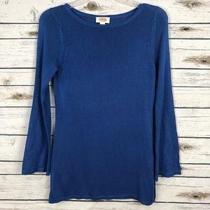 Talbots ladies small royal blue soft sweater